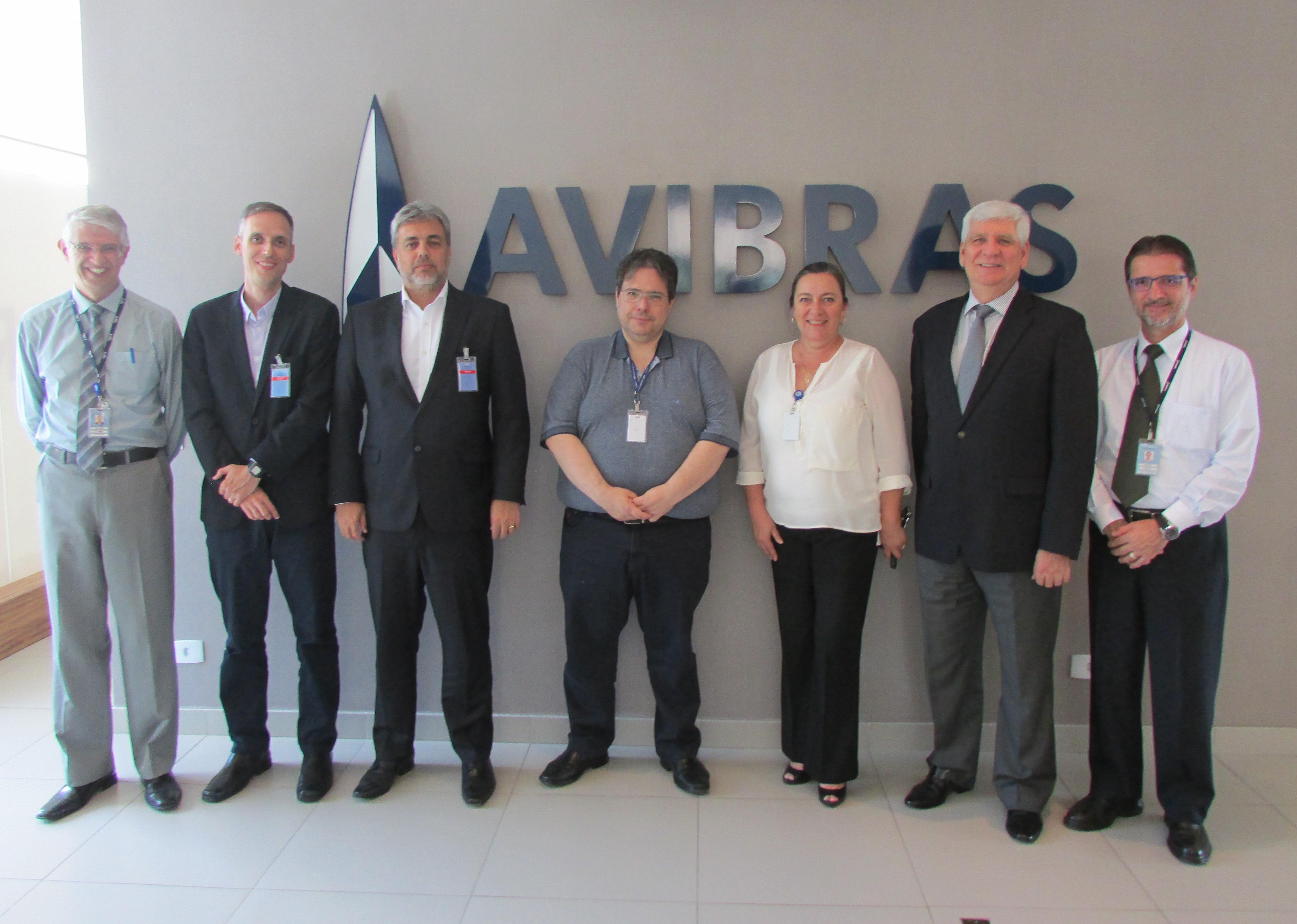 ABGF visita complexo aeroespacial e de defesa em São José dos Campos